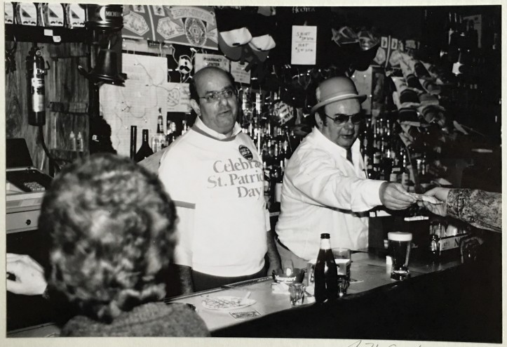 Scallio's Tavern, Baltimore, 1988