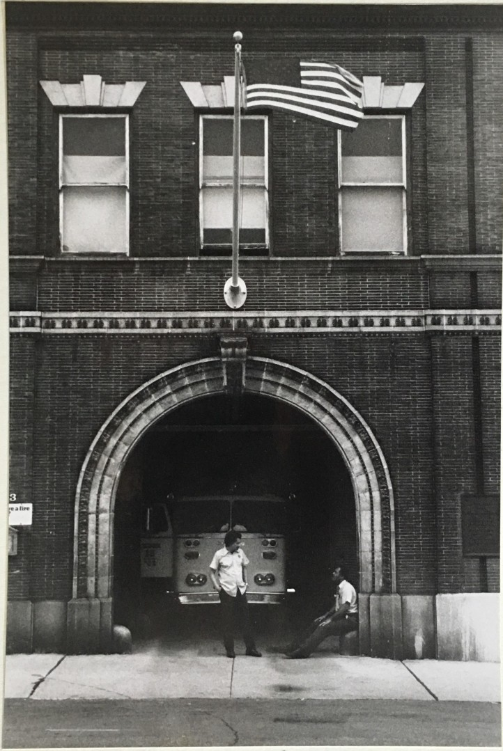 Firehouse, S. Carey Street, Baltimore, 1988