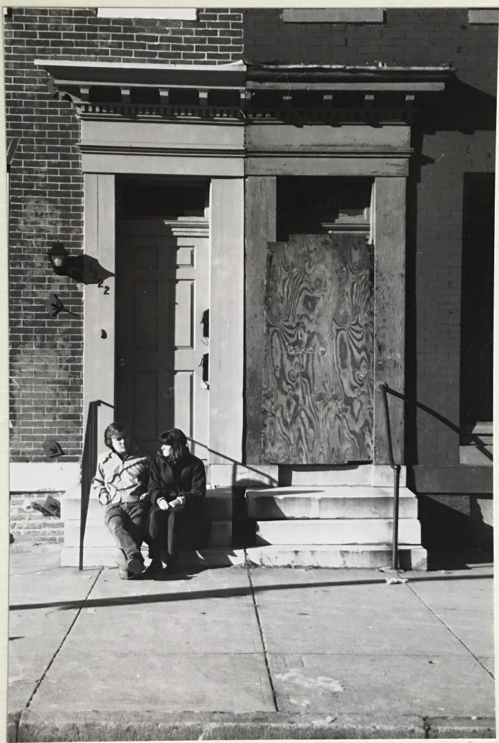 Hollins Street, Baltimore, 1988