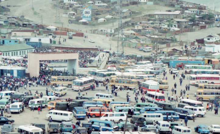 1997 gate and omo and informal buses